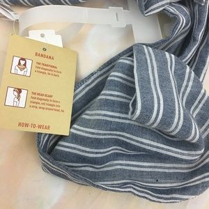Mossimo Supply Co. Accessories - Mossimo blue white striped bandana head wrap